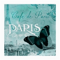 Paris Butterfly Glasses Cloth (Medium, Two Sided)