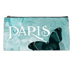 Paris Butterfly Pencil Case