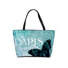 Paris Butterfly Large Shoulder Bag