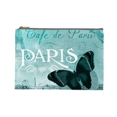 Paris Butterfly Cosmetic Bag (large)