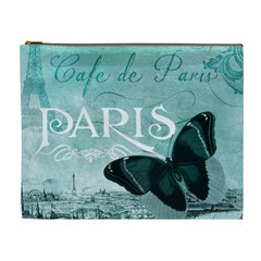 Paris Butterfly Cosmetic Bag (XL)
