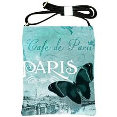 Paris Butterfly Shoulder Sling Bag