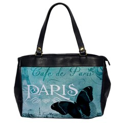 Paris Butterfly Oversize Office Handbag (One Side)