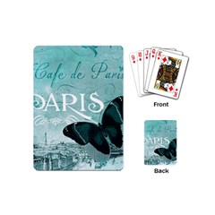 Paris Butterfly Playing Cards (Mini)