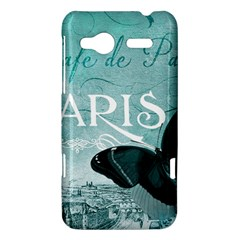 Paris Butterfly HTC Radar Hardshell Case
