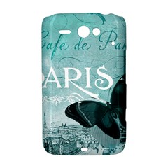 Paris Butterfly HTC ChaCha / HTC Status Hardshell Case