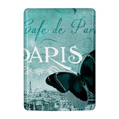 Paris Butterfly Kindle 4 Hardshell Case