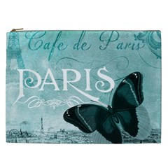 Paris Butterfly Cosmetic Bag (XXL)