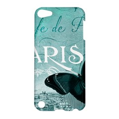 Paris Butterfly Apple Ipod Touch 5 Hardshell Case