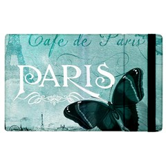 Paris Butterfly Apple iPad 3/4 Flip Case