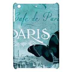 Paris Butterfly Apple iPad Mini Hardshell Case
