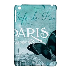 Paris Butterfly Apple iPad Mini Hardshell Case (Compatible with Smart Cover)