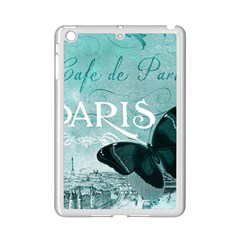Paris Butterfly Apple Ipad Mini 2 Case (white)