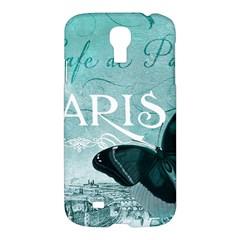Paris Butterfly Samsung Galaxy S4 I9500/i9505 Hardshell Case