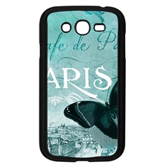 Paris Butterfly Samsung Galaxy Grand DUOS I9082 Case (Black)
