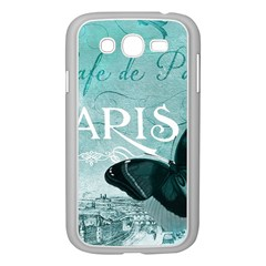 Paris Butterfly Samsung Galaxy Grand DUOS I9082 Case (White)