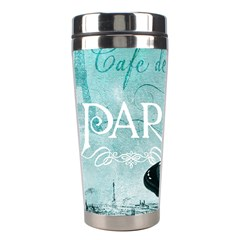 Paris Butterfly Stainless Steel Travel Tumbler