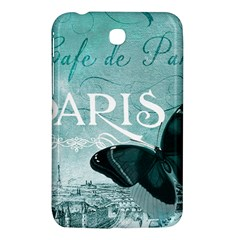 Paris Butterfly Samsung Galaxy Tab 3 (7 ) P3200 Hardshell Case