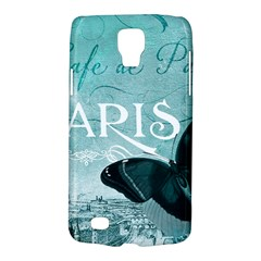 Paris Butterfly Samsung Galaxy S4 Active (I9295) Hardshell Case