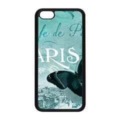 Paris Butterfly Apple iPhone 5C Seamless Case (Black)