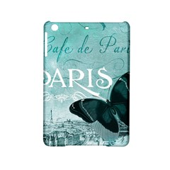 Paris Butterfly Apple iPad Mini 2 Hardshell Case