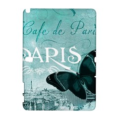 Paris Butterfly Samsung Galaxy Note 10.1 (P600) Hardshell Case