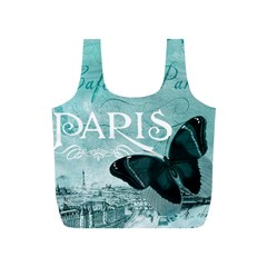 Paris Butterfly Reusable Bag (S)