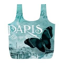 Paris Butterfly Reusable Bag (L)