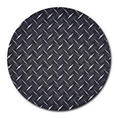 Metal Floor 3 8  Mouse Pad (Round)
