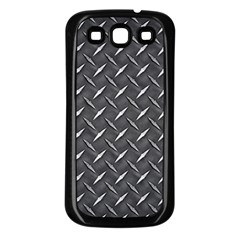 Metal Floor 3 Samsung Galaxy S3 Back Case (Black)