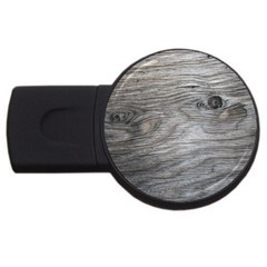 Weathered Wood 2GB USB Flash Drive (Round)