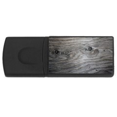 Weathered Wood 4gb Usb Flash Drive (rectangle)
