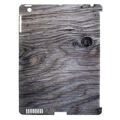 Weathered Wood Apple iPad 3/4 Hardshell Case (Compatible with Smart Cover)