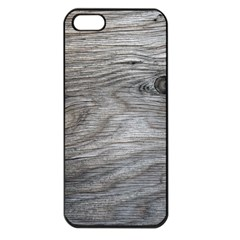 Weathered Wood Apple Iphone 5 Seamless Case (black)