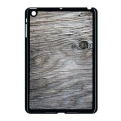 Weathered Wood Apple Ipad Mini Case (black)