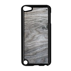 Weathered Wood Apple iPod Touch 5 Case (Black)