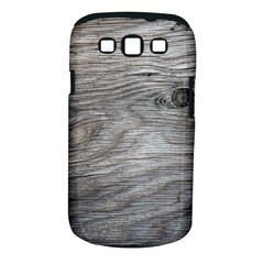 Weathered Wood Samsung Galaxy S Iii Classic Hardshell Case (pc+silicone)