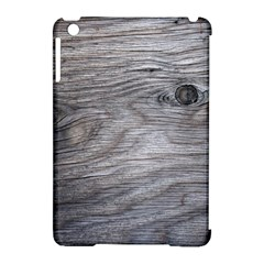 Weathered Wood Apple iPad Mini Hardshell Case (Compatible with Smart Cover)