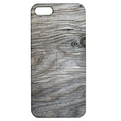 Weathered Wood Apple iPhone 5 Hardshell Case with Stand