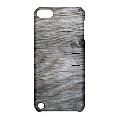 Weathered Wood Apple Ipod Touch 5 Hardshell Case With Stand