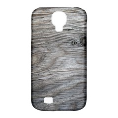Weathered Wood Samsung Galaxy S4 Classic Hardshell Case (PC+Silicone)