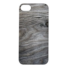 Weathered Wood Apple iPhone 5S Hardshell Case