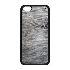 Weathered Wood Apple iPhone 5C Seamless Case (Black)