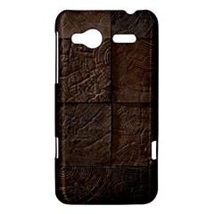 Wood Mosaic HTC Radar Hardshell Case