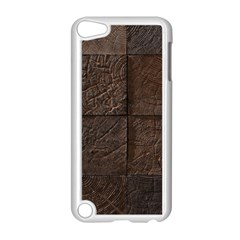 Wood Mosaic Apple iPod Touch 5 Case (White)