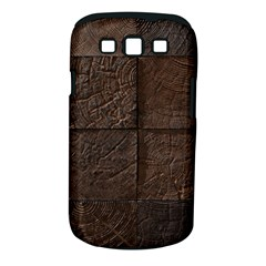 Wood Mosaic Samsung Galaxy S Iii Classic Hardshell Case (pc+silicone)