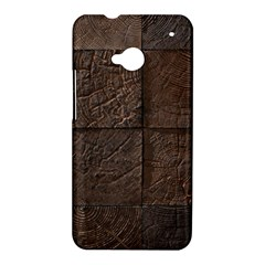 Wood Mosaic HTC One Hardshell Case