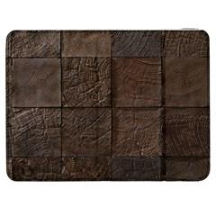Wood Mosaic Samsung Galaxy Tab 7  P1000 Flip Case