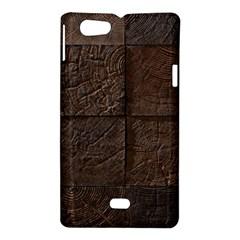 Wood Mosaic Sony Xperia Miro Hardshell Case