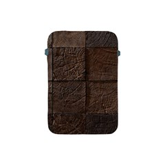 Wood Mosaic Apple Ipad Mini Protective Sleeve
